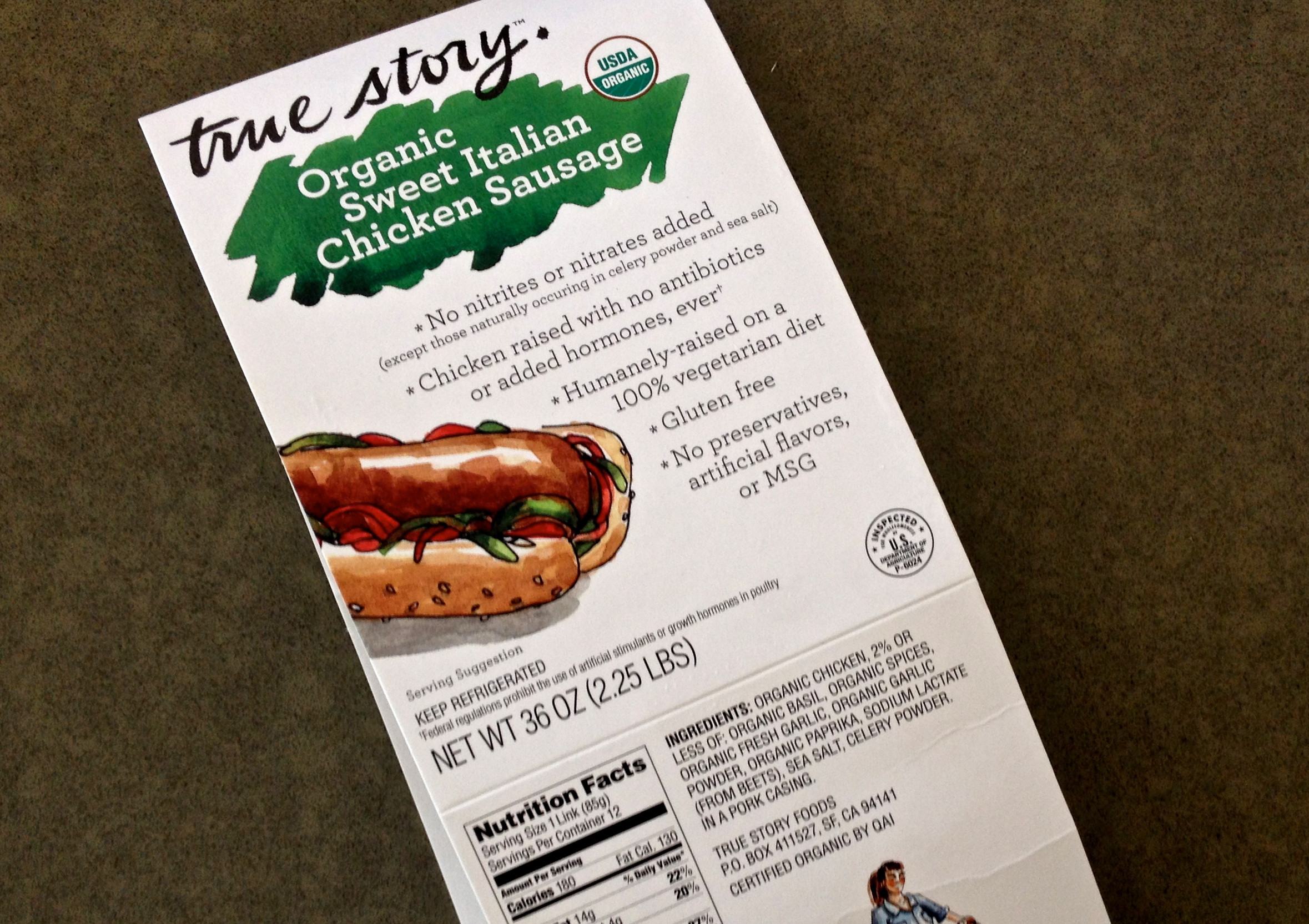 Organic Chicken Sausage Costco  A true story about their sausages – Hungry Hungry Hippie
