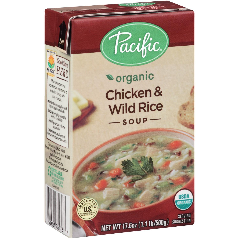 Organic Chicken Soup  Jet Pacific Natural Foods Organic Soup Split Pea