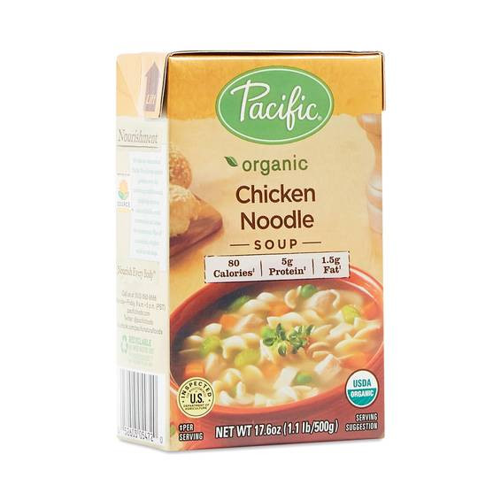 Organic Chicken Soup  Organic Chicken Noodle Soup by Pacific Foods Thrive Market