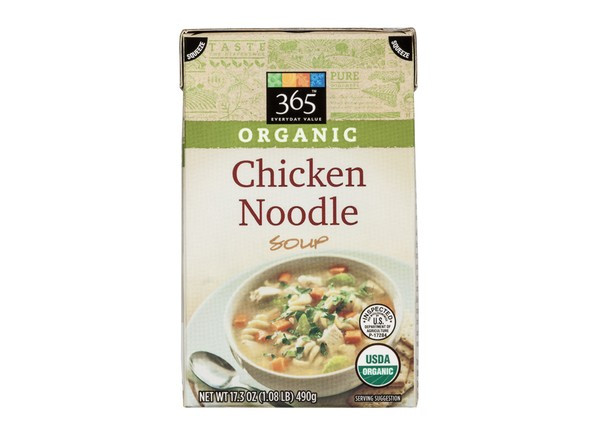 Organic Chicken Soup  365 Everyday Value Organic Chicken Noodle Whole Foods