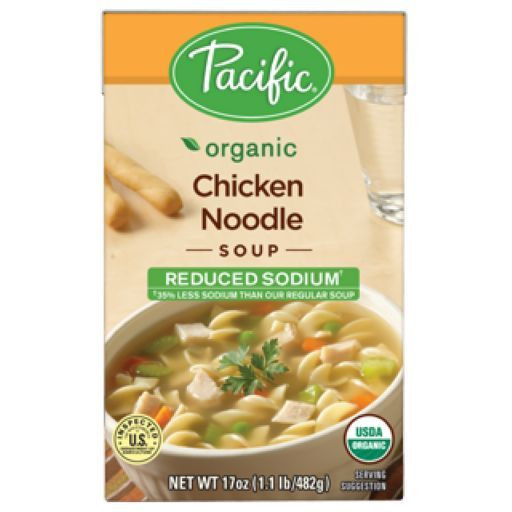 Organic Chicken Soup  Pacific Natural Foods Organic Chicken Noodle Soup