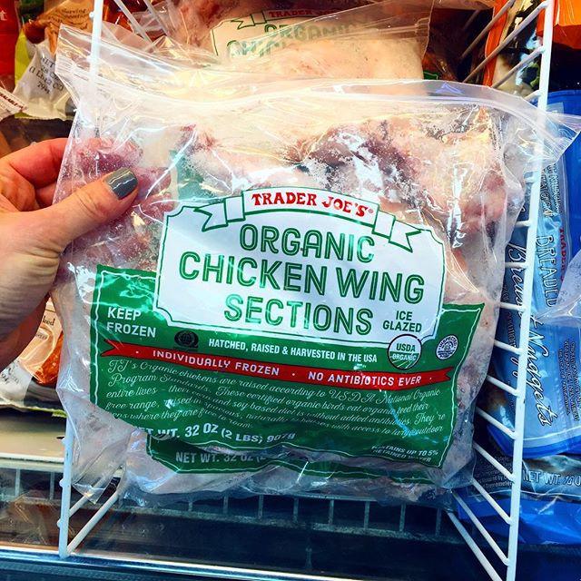 Organic Chicken Wings  Healthy Shopping Trip Trader Joe s
