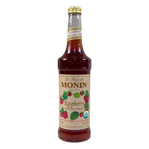 Organic Coffee Syrups  Monin Organic Raspberry Syrup 750 mL Free Shipping Over