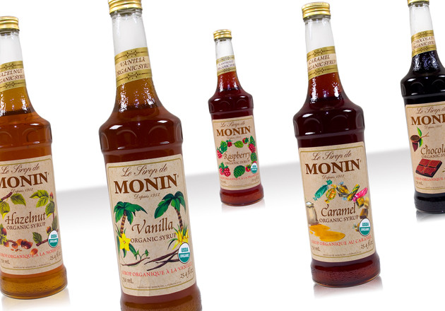 Organic Coffee Syrups  Monin Organic Syrups are now available at Espresso Planet