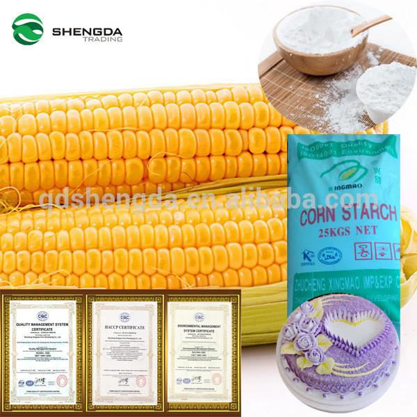 Organic Corn Starch  High Quality Food Grade Waxy Colored Organic Corn Starch