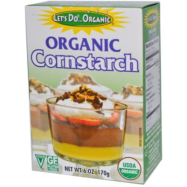 Organic Corn Starch  Corn Starch Organic 170g – Organic Delivery