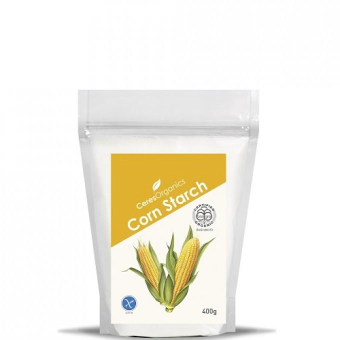 Organic Corn Starch  Ceres Organics Corn Starch 400g Ceres Organics