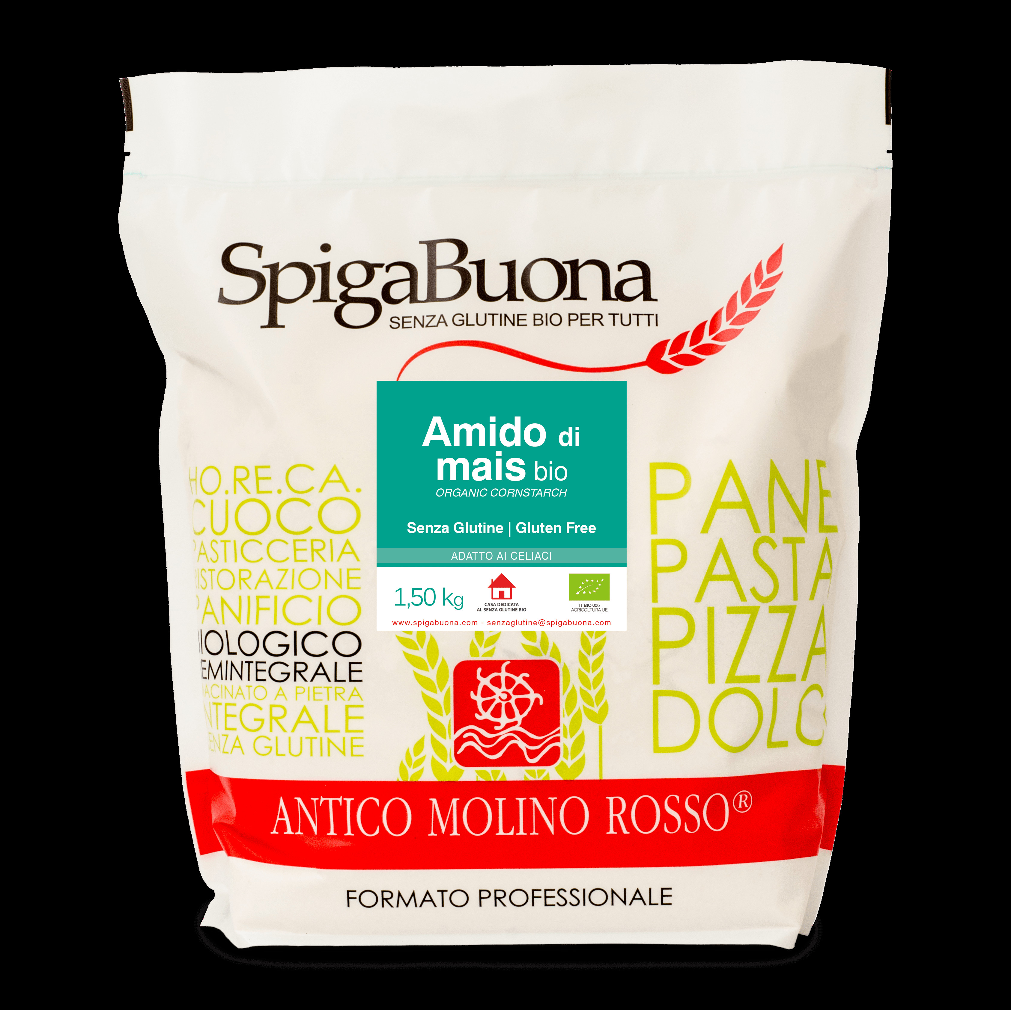 Organic Corn Starch  Corn Starch 2 5kg – Antico Molino Rosso Eshop