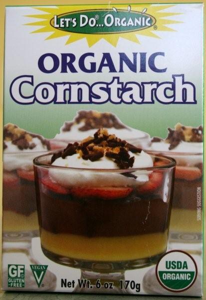 Organic Corn Starch  Let's Do Organic Corn Starch