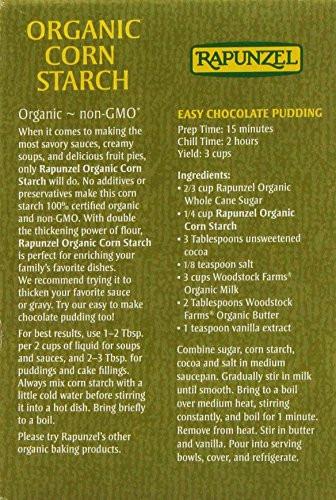 Organic Corn Starch  Rapunzel Organic Corn Starch 8 oz