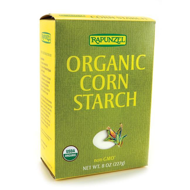 Organic Corn Starch  Rapunzel Organic Corn Starch non GMO 8 oz Pkg Swanson