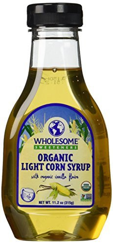 Organic Corn Syrup  Wholesome Sweeteners Organic Light Corn Syrup 11 2 Ounce