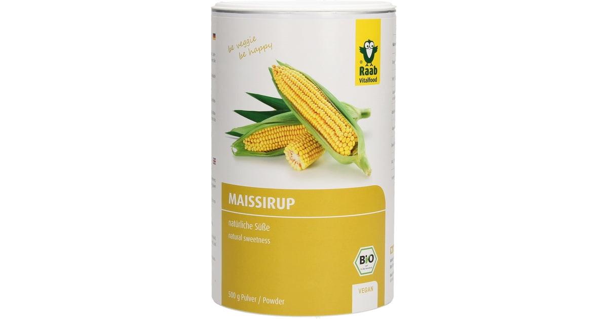 Organic Corn Syrup  Organic Corn Syrup Powder 500 g Raab Vitalfood