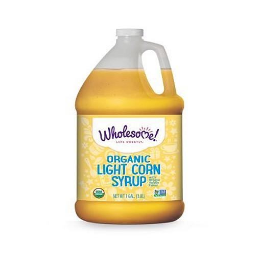 Organic Corn Syrup  Organic Light Corn Syrup 1 gal Wholesome Sweeteners