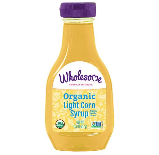 Organic Corn Syrup  Organic Lite Corn Syrup Wholesome