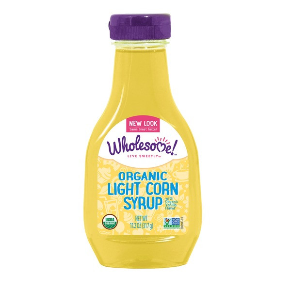 Organic Corn Syrup  Wholesome Organic Light Corn Syrup 11 2 oz from Whole