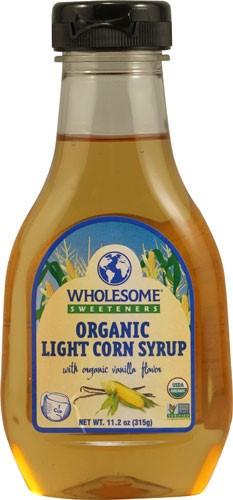 Organic Corn Syrup  Wholesome Sweeteners Organic Light Corn Syrup 11 2 Oz