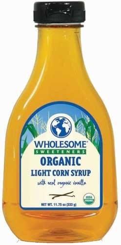 Organic Corn Syrup  Wholesome Sweeteners Organic Light Corn Syrup Vanilla 11 2