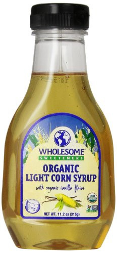 Organic Corn Syrup  Wholesome Sweeteners Syrup Og Corn Light 11 2 Ounce