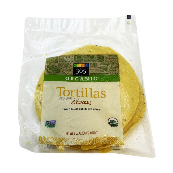 Organic Corn Tortillas  365 Corn Tortillas 8 oz from Whole Foods Market 365