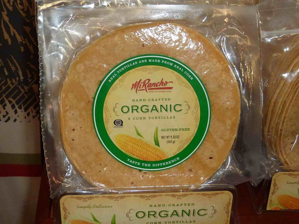 Organic Corn Tortillas  My Favorite Organic Products at 2012 Expo West Trade Show