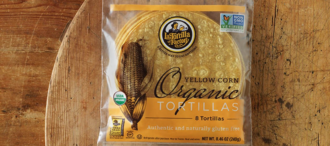 Organic Corn Tortillas  Organic Non GMO Tortillas Archives La Tortilla Factory