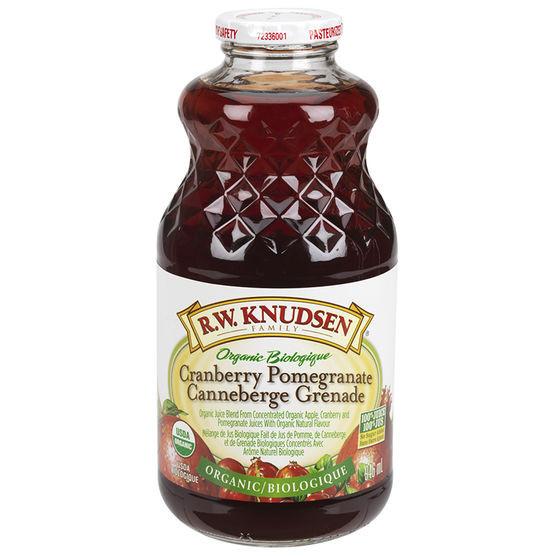 Organic Cranberry Juice  R W Knudsen Family Organic Cranberry Pomegranate Juice