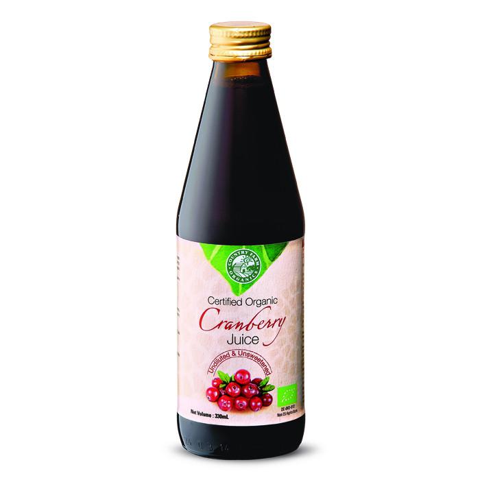 Organic Cranberry Juice  CFO Organic Cranberry Juice 330ml COSWAY