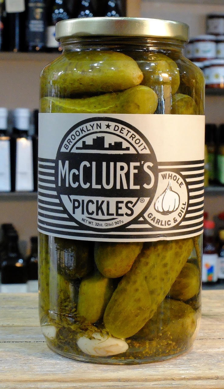 Organic Dill Pickles  McClure's Pickles – Whole Garlic and Dill Pickles 907g