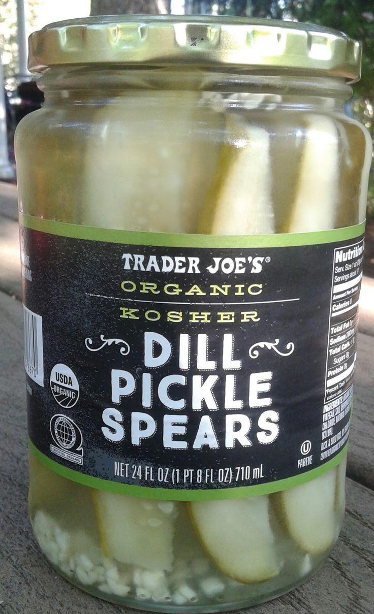 Organic Dill Pickles  What s Good at Trader Joe s Trader Joe s Organic Kosher