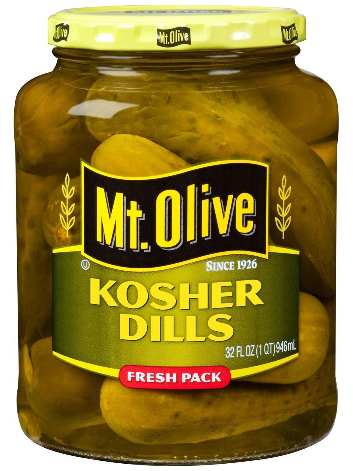Organic Dill Pickles  Kosher Dills Mt Olive Pickles
