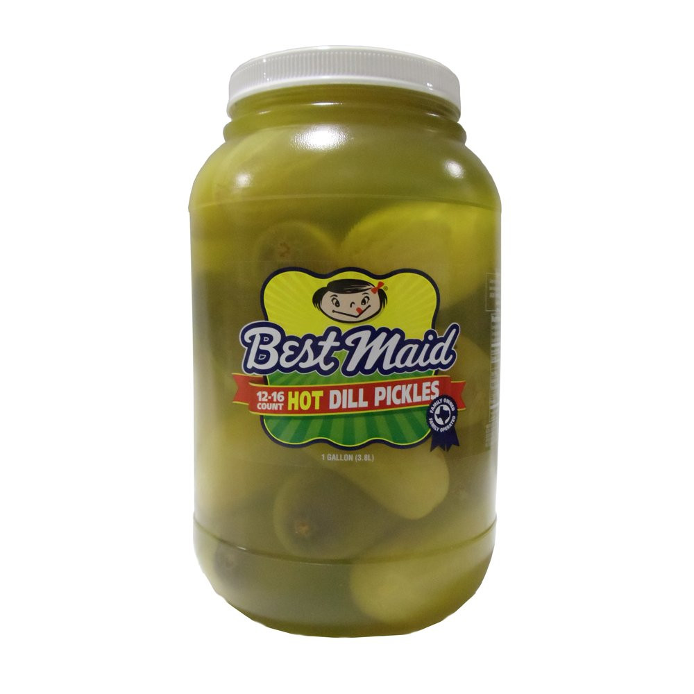 Organic Dill Pickles  Amazon Best Maid Xtreme Hot Pickle Bitez Dill