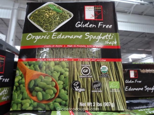 Organic Edamame Spaghetti  Organic Edamame Spaghetti