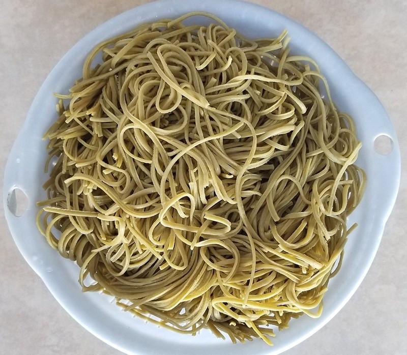 Organic Edamame Spaghetti  Costco Eats Seapoint Farms Organic Edamame Spaghetti