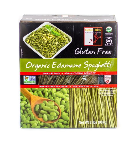 Organic Edamame Spaghetti  Explore Asian Organic Edamame Spaghetti 2 Lb