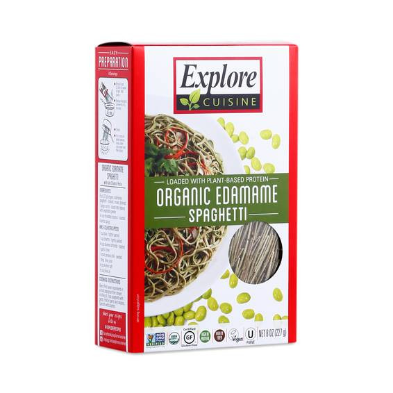 Organic Edamame Spaghetti  Organic Edamame Spaghetti by Explore Cuisine Thrive Market