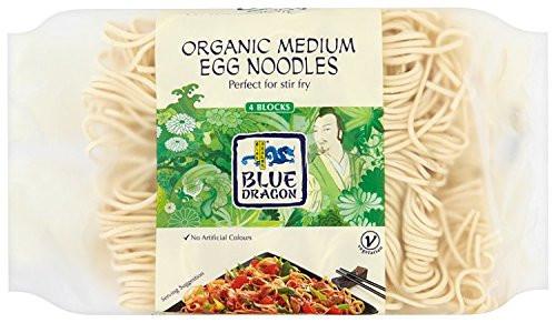 Organic Egg Noodles  Blue Dragon Organic Egg Noodles Pack of 12