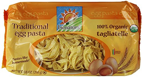 Organic Egg Noodles  Bionaturae Organic Egg Tagliatelle 8 8 oz Food Beverages