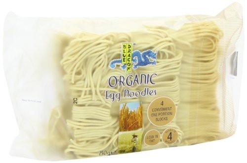 Organic Egg Noodles  Blue Dragon Organic Egg Noodles 250 g Pack of 12