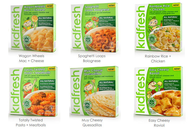 Organic Frozen Dinners  Kidfresh Natural Frozen Dinners for Kids Free Product