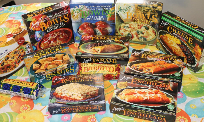 "Organic Frozen Dinners  ""Amy's"" Frozen Meals Review 1 New Series – All Glowed Up"