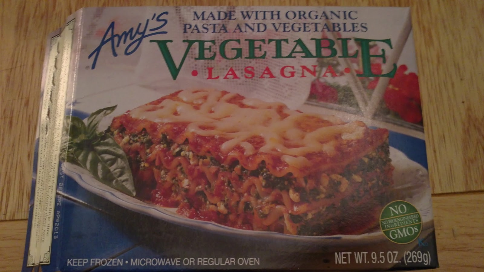 Organic Frozen Dinners  Hope s Cafe Amy s Kitchen Organic Frozen Meals Review