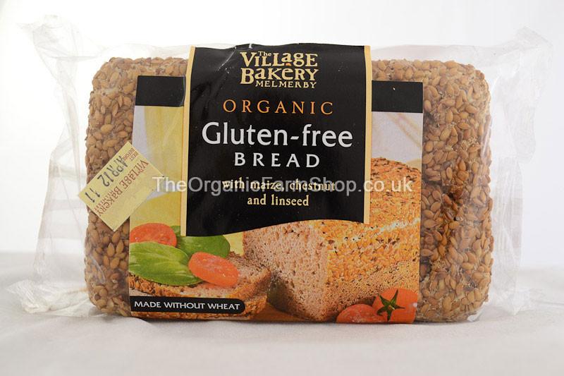 Organic Gluten Free Bread  Village Bakery Gluten Free Bread from the Organic Farm