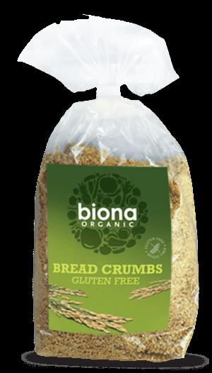Organic Gluten Free Bread  Biona Organic Gluten Free Bread Crumbs 500g