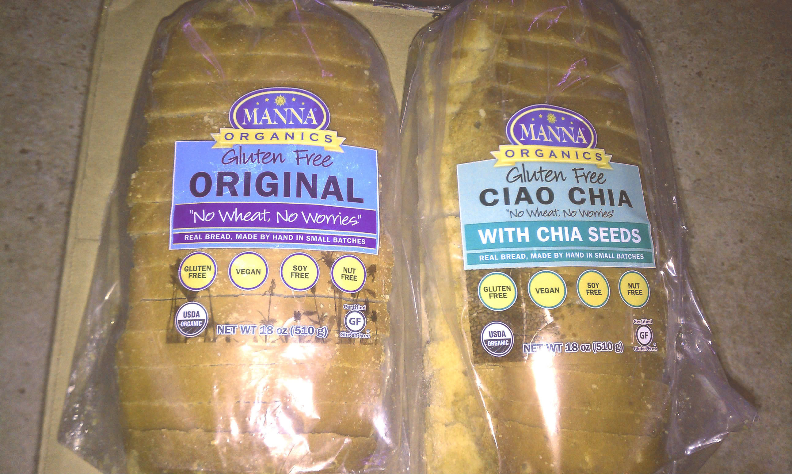 Organic Gluten Free Bread  Organic Natural & Gluten Free Breads from Manna Organics