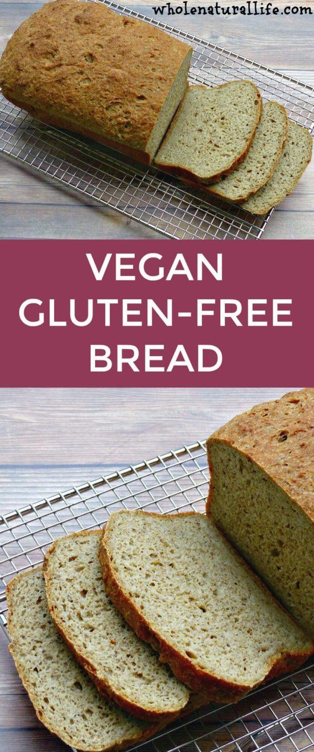 Organic Gluten Free Bread  Vegan Gluten free Bread Whole Natural Life