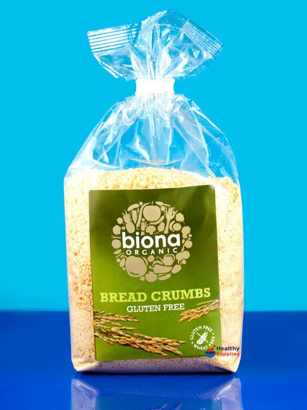 Organic Gluten Free Bread  Gluten Free Bread Crumbs Organic 500g Biona