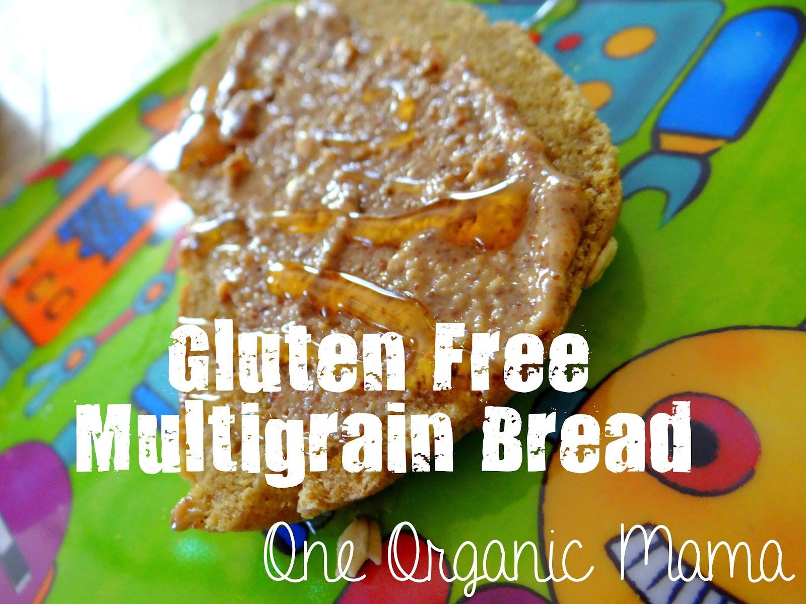 Organic Gluten Free Bread  e Organic Mama Gluten Free Multigrain Bread