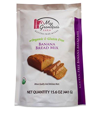 Organic Gluten Free Bread  My Grandpa s Farm Organic Gluten Free Banana Bread Mix