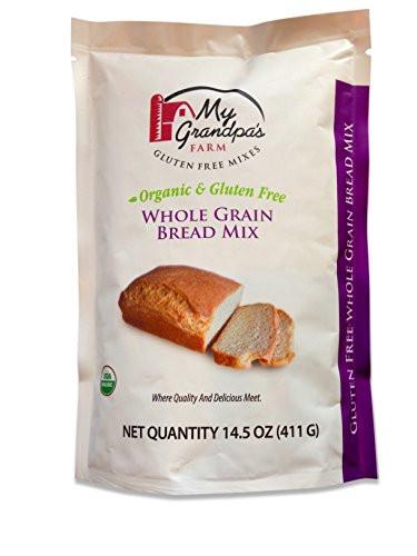 Organic Gluten Free Bread  My Grandpa s Farm Organic Gluten Free Whole Grain Bread